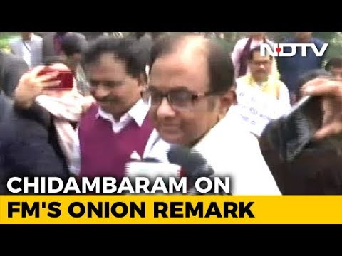 """Does She Eat Avocado?"": P Chidambaram Throws Shade At Finance Minister"