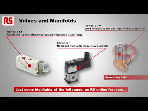 SMC Pneumatics products | RS Components