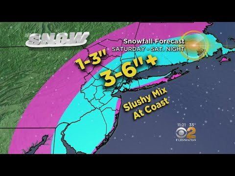 Snow Moving Into Tri-State