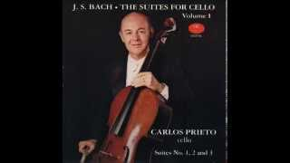 Carlos Prieto - J. S. Bach The Suites for Cello (Volume I)