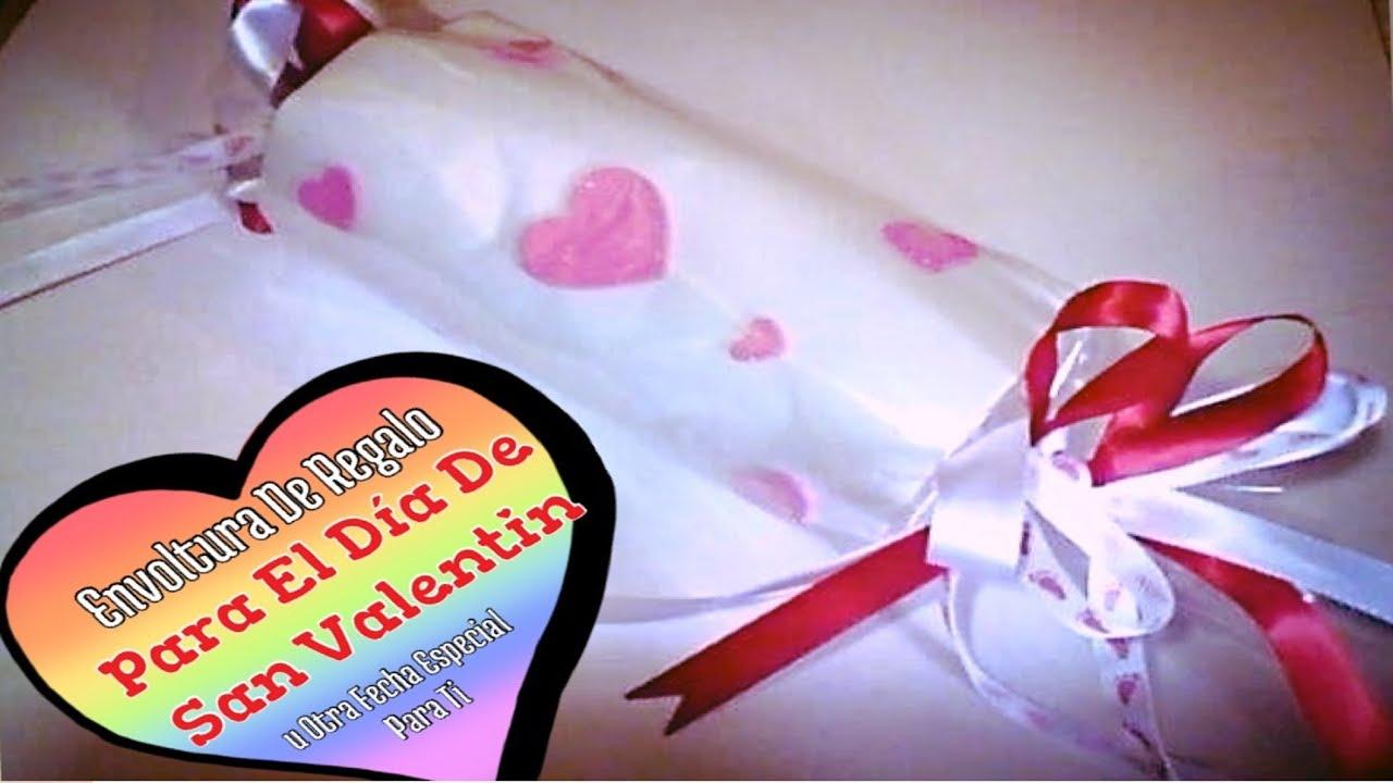 Envoltura de regalo para el dia de san valentin u otra - Envoltorios originales para regalos ...