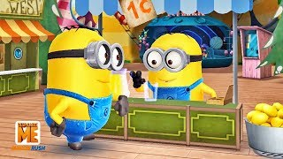 Minion Rush Update Trailer - Juice Bar Mini Movie and Beat El Macho Evil Minion Boss