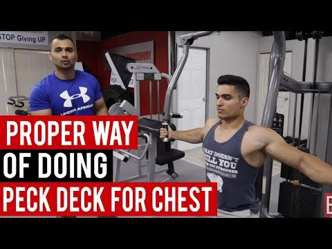 PECK DECK for CHEST! (Hindi / Punjabi)