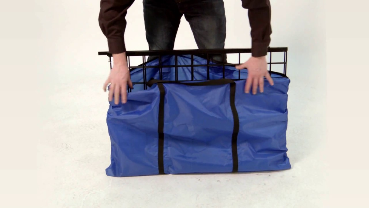 Folding Portable Grid Display Item 2657 Youtube