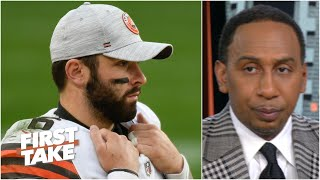 'I've given up' on Baker Mayfield, the Browns & Cleveland should give up - Stephen A. | First Take