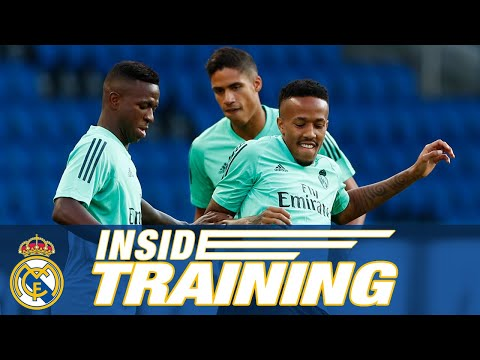 Training in Paris! | PSG vs Real Madrid (Champions League)