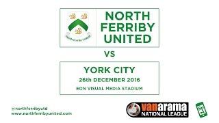 north ferriby united vs york city   highlights