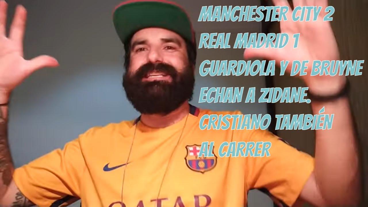 Manchester City 2 Real Madrid 1 Guardiola se carga al Madrid y Cristiano Ronaldo fuera de Champions