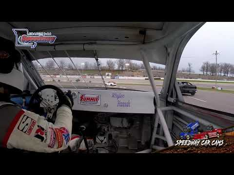 #28 Chris Albright - Hornet - 4-6-19 I-44 Speedway - In Car Camera