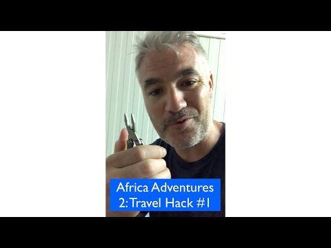 Africa Adventures 2:travel hack #1