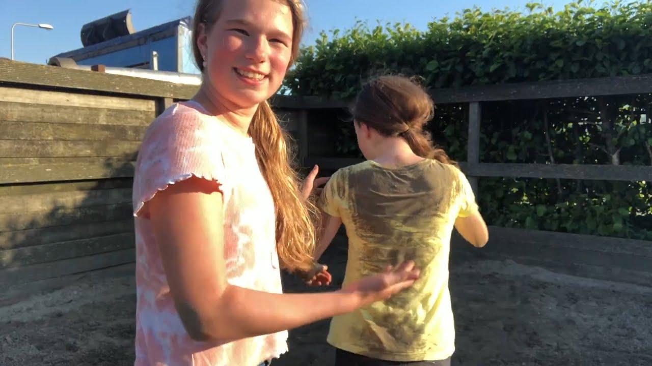 4 random momenten met Tessa op de manege * Hart voor Paarden *