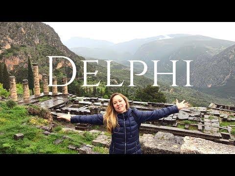 DELPHI GREECE - LAND OF MYTH - Travel Vlog