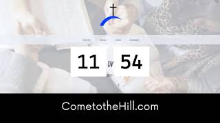 Church on the Hill Live Stream