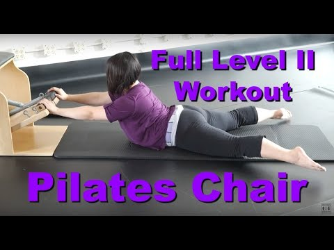 Upside-Down Pilates - Level II Chair Full 1 Hour Workout