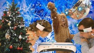 Создаем новогоднее настроение / Встречаем Год Собаки / Двигаем шарик силой мысли / Качаемся на шарах