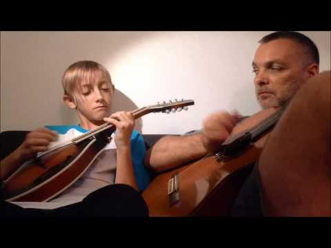 The Pink Panther Song on Mandolin and Guitar