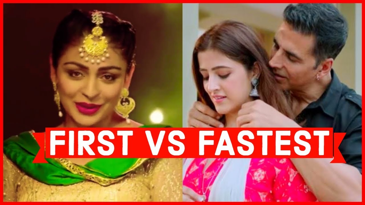 First Vs Fastest Indian Song to Reach 100 Million to 1 Billion Views on Youtube
