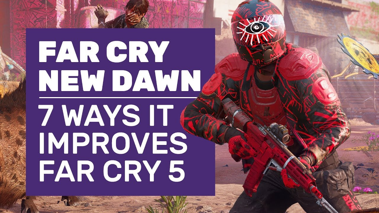 7 Reasons Far Cry New Dawn Is The Game Far Cry 5 Should Have Been Far Cry New Dawn Gameplay Youtube