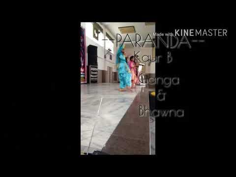Bhangra Funk[ || Ganga & Bhawna || ] FULL ENERGY PERFORMANCE at Punjab 's Got Talant Audditions
