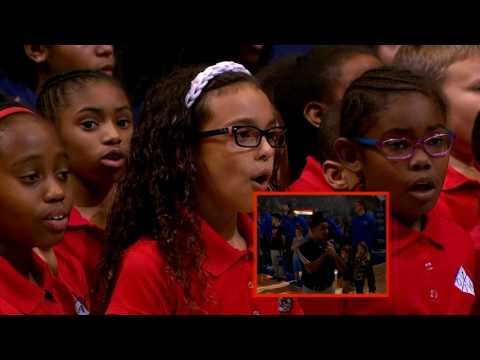 Orlando Junior Academy - 1/4/2017 National Anthem