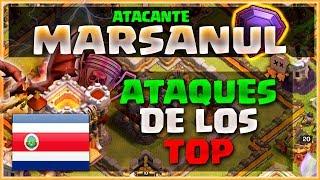 ATAQUES DE LOS TOP: MARSANUL - EL MEJOR DE COSTA RICA - CLASH OF CLANS A POR TODAS