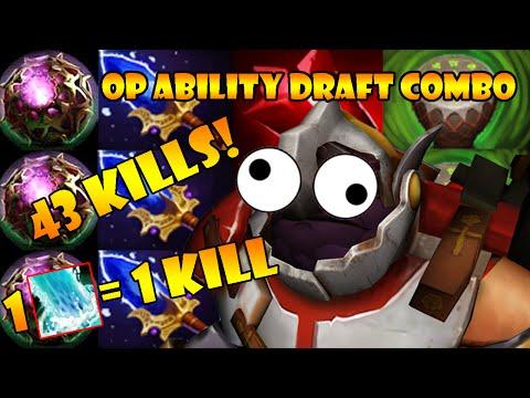 Sticky Napalm in Ability Draft | DotA 2