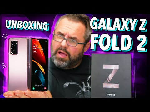 GALAXY Z FOLD 2: UNBOXING!