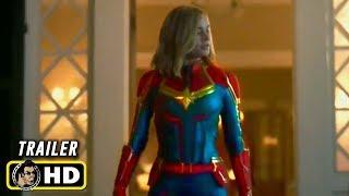 """CAPTAIN MARVEL (2019) """"The New Captain"""" TV Spot Trailer [HD]"""