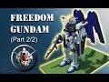 Minecraft Gundam: Freedom - How it's Made (Part 2/2)