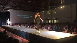 Santa Fe Indian Market 2018 - Haute Couture Fashion Show - Adrian Standing Elk Pinnecoose