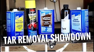 BEST TAR REMOVER for auto detailing? The ultimate battle!