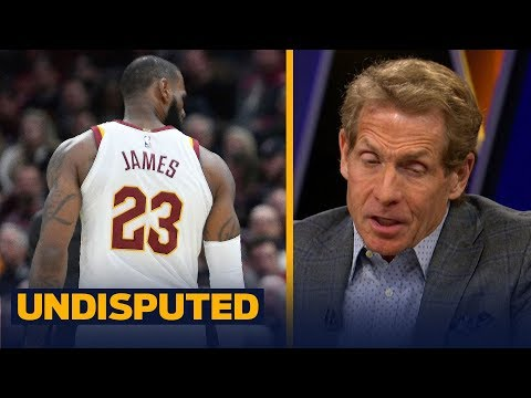 Skip Bayless reacts to LeBron James being ejected against the Miami Heat | UNDISPUTED