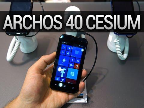 Archos 40 Cesium, prise en main - par Test-Mobile.fr