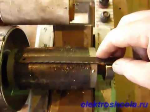 Обрыв стержней ротора асинхронного двигателя.mp4