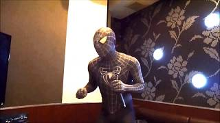 Cosplay Black Spiderman Karaoke