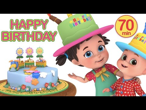 Happy Birthday To You Songs For Kids - Nursery Rhymes and Kindergarten Lullabies by Jugnu Kids