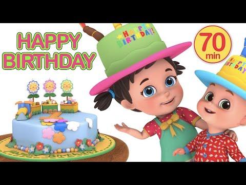 Happy Birthday To You Songs For Kids - Nursery Rhymes and Kindergarten Lullabies by Jugnu Kids