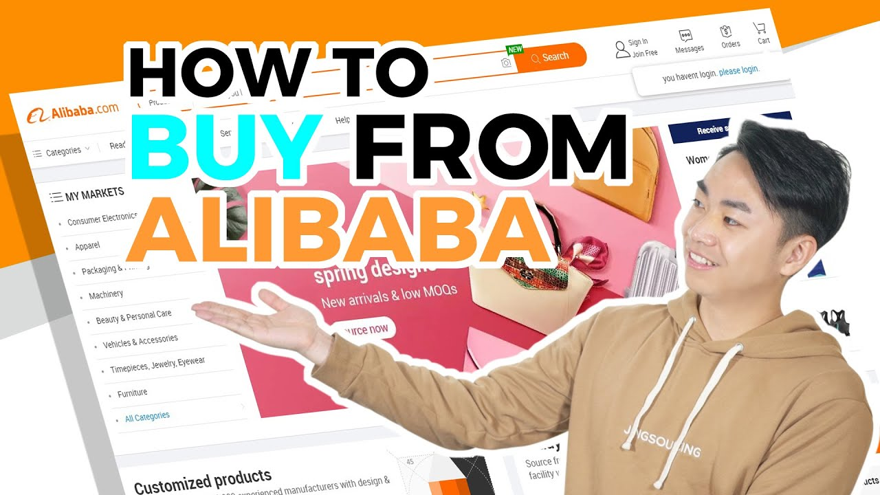 Download How to Buy from Alibaba? Complete Guide from Sourcing to Receiving Products