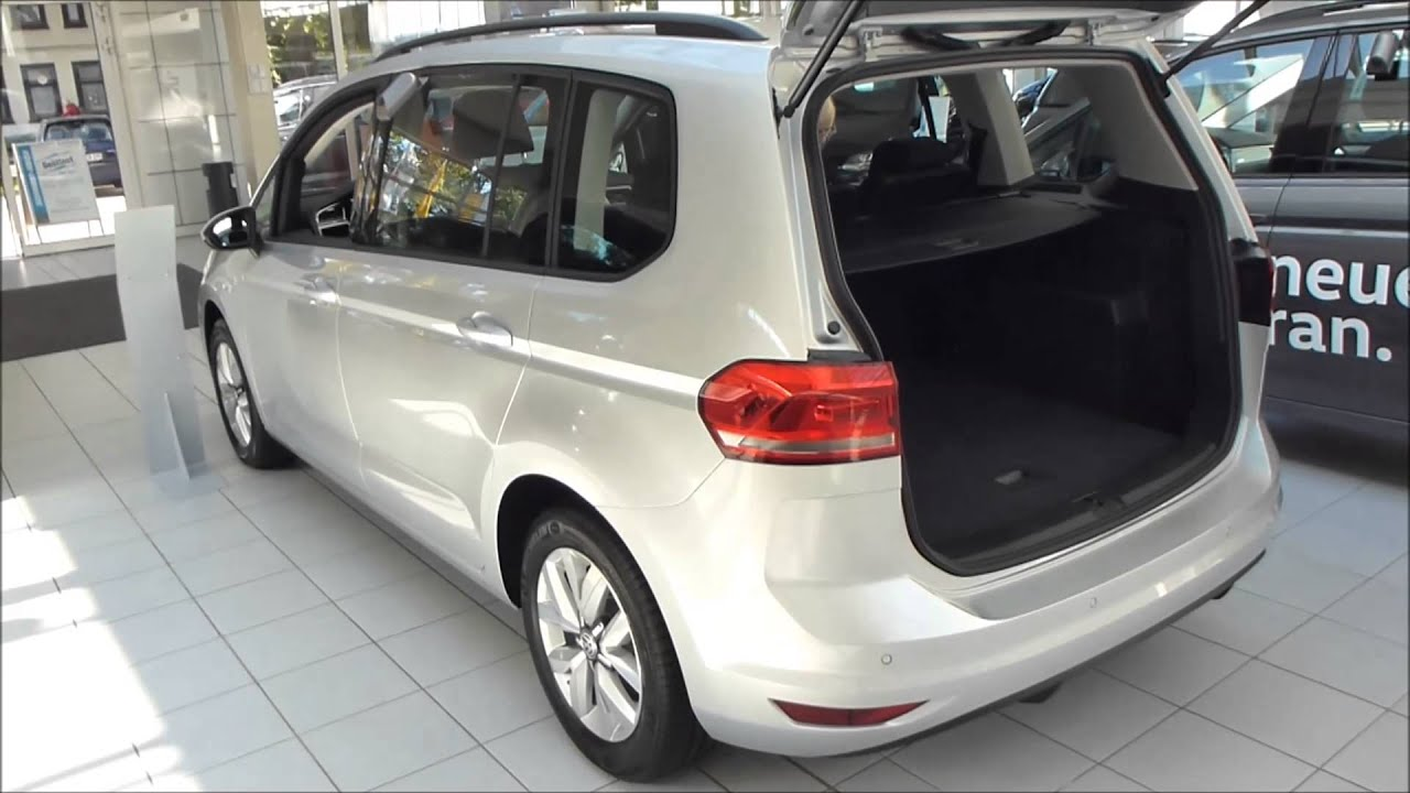 2016 vw touran exterior interior 1 4 tsi 150 hp see for Interior touran
