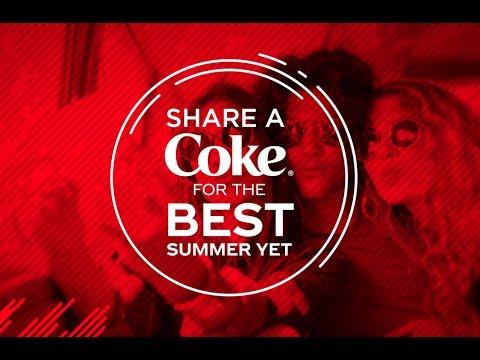 Share a Coke®. Taste summer adventure.