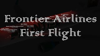 ROBLOX - Frontier Airlines First Flight - A320-200