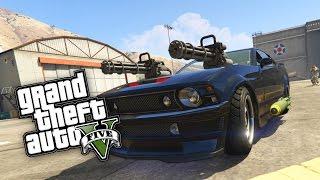 GTA 5: DAS BRUTALSTE AUTO in GTA 5 ! - Knight Rider MOD | iCrimax