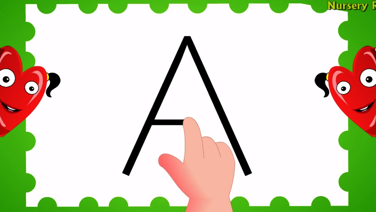 how to write alphabet capital letters abc songs for children children songs youtube