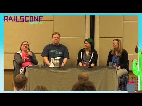 RailsConf 2017: Panel: Developer Happiness through Getting Involved
