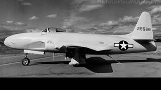 F-80 Shooting Star - Americas first jet fighter
