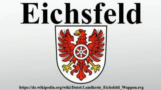 Vielen dank für ihre unterstützung:https://amzn.to/2ukhxyseichsfelddas eichsfeld ist eine historische landschaft im südöstlichen niedersachsen, nordwestli...