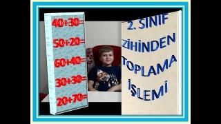 2  SINIF ZİHİNDEN TOPLAMA İŞLEMİ ALIŞTIRMALARI 1