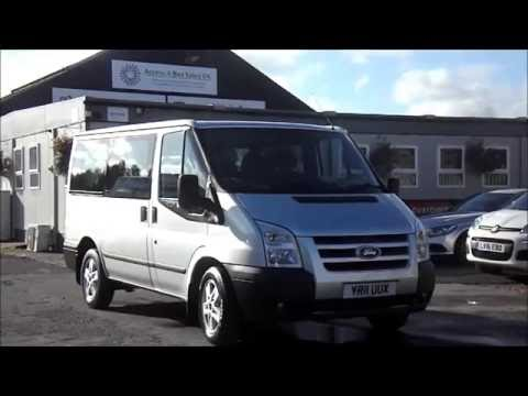 2011 ford transit tourneo 8 seater minibus yr11 uux youtube. Black Bedroom Furniture Sets. Home Design Ideas