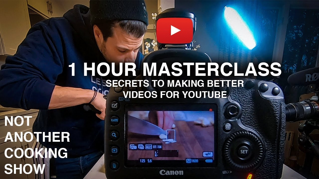 how to SHOOT & EDIT AMAZING FOOD VIDEOS for YOUTUBE in 2020