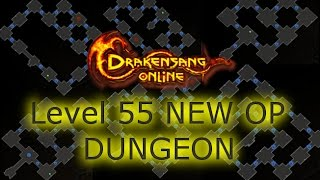 Drakensang Online Testserver : Level 55 / New OP Dungeon!!! :)